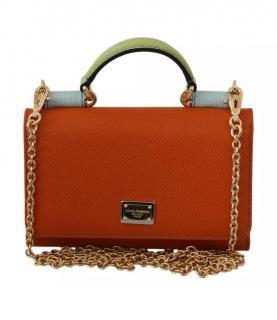 Dolce & Gabbana Orange Sicily Von Bag