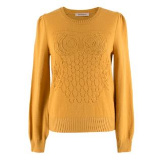 See by Chloe Owl Lasercut Knit Jumper