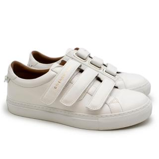 Givenchy White Urban Street Leather Sneakers