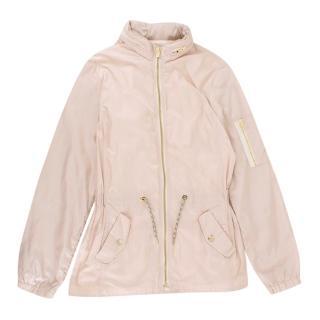 Chloe Girls Pale Pink Waterproof Jacket