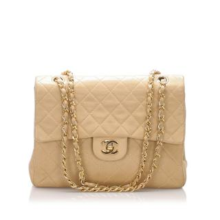 Chanel Classic Medium Lambskin Double Flap Bag