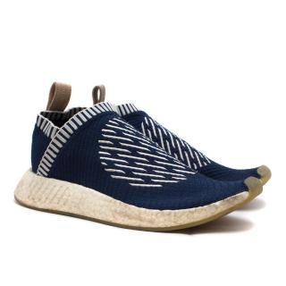 Adidas Blue NMD CS2 Primeknit Trainers