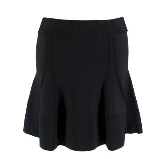 A.L.C Black Stretch Knit Skirt
