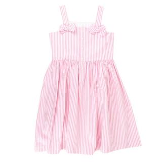 Il Gulfo Girls Striped Dress