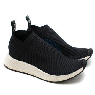 Adidas Black NMD CS2 Primeknit Trainers