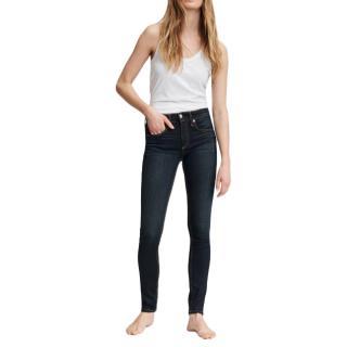 Rag & Bone Mid rise Bedford indigo skinny jeans