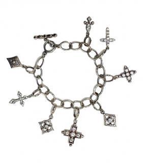 Loree Rodkin Silver Charm Bracelet