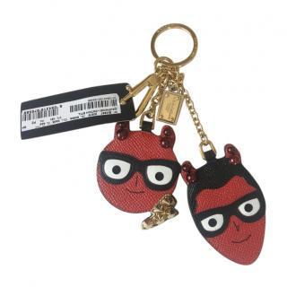 Dolce & Gabbana Dauphine Devil Patch Key Chain
