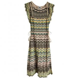 M Missoni Zig Zag Knit Dress