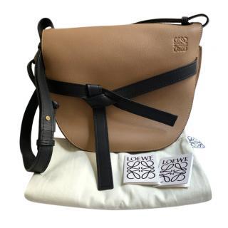 Loewe Moka/Black Gate Shoulder Bag