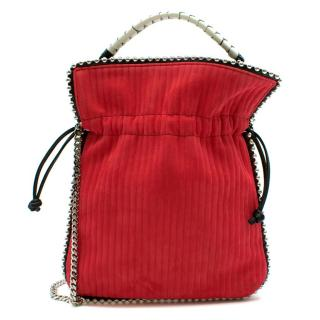 Les Petits Joueurs Trilly Whip Stitch Red Bag