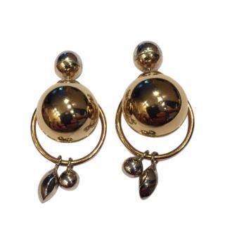 Dior Mise En Dior Crystal Drop Earrings