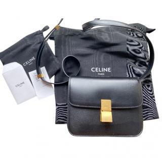 Celine Black Calfskin Box Bag