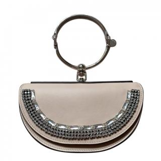 Chloe Nile Cement Pink Nile Miniaudiere Bracelet Bag