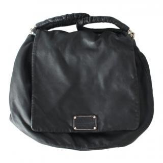 Dolce & Gabbana Black Leather Miss Lexington Tote Bag
