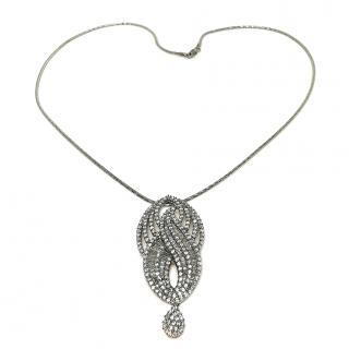 Vilor Cascading Diamond Pendant Necklace