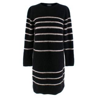 MaxMara Striped Wool Sweater Dress