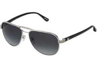 Dunhill SDH002 Titanium Mirrored Sunglasses