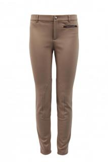 Gucci Web Detail Taupe Trousers