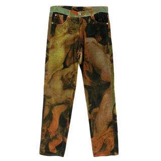 Vivienne Westwood Printed Velvet Trousers