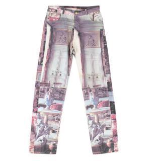 Vivienne Westwood Printed Denim Jeans