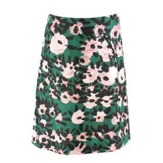 Marni Silk Blend Printed Skirt