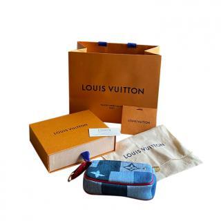 Louis Vuitton Denim Patchwork Micro Pochette