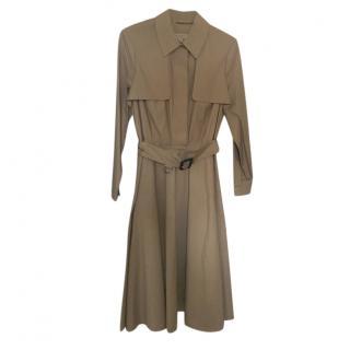Burberry Khaki Trench Jacket Dress
