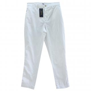 Polo Ralph Lauren White Chinos