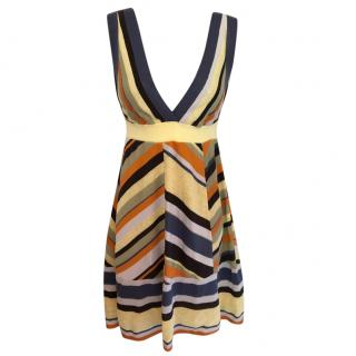 M Missoni Knit V-Neck Dress