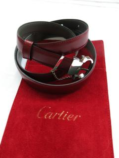 Cartier Bordeaux Chain Detail Belt