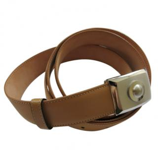 Cartier Camel Leather Belt