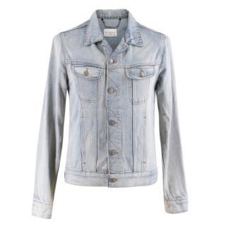 Sandro Lightwash Denim Jacket