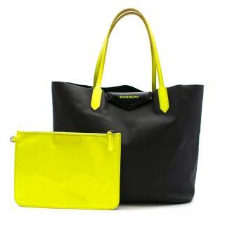 Givenchy Black Calfskin Small Antigona Shopper Tote