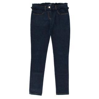 Chloe Girls Frayed Denim Jeans