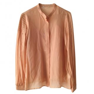 Max & Co. Peach Chiffon Blouse