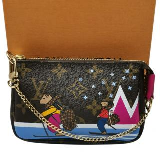 Louis Vuitton limited edition mini pochette bag