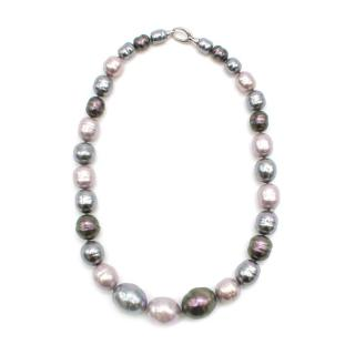 Majorica Iridescent Juno Faux Pearl Necklace