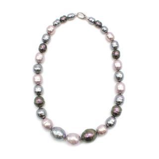 Majorica Iridescent Juno Faux Pearl Necklace