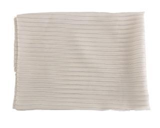 Dolce & Gabbana White Striped Scarf