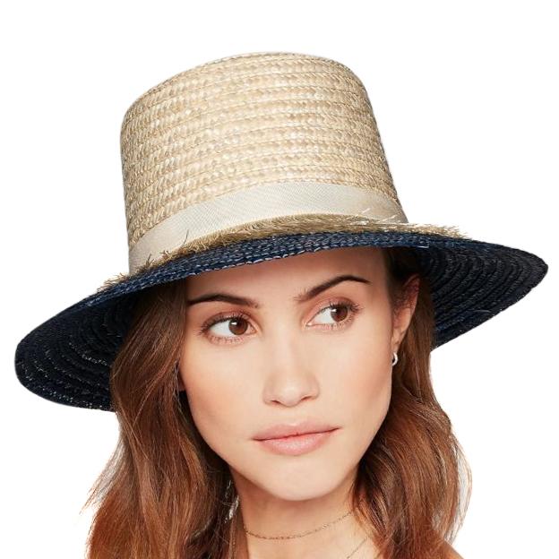 Eugenia Kim Woven Straw Stevie Hat