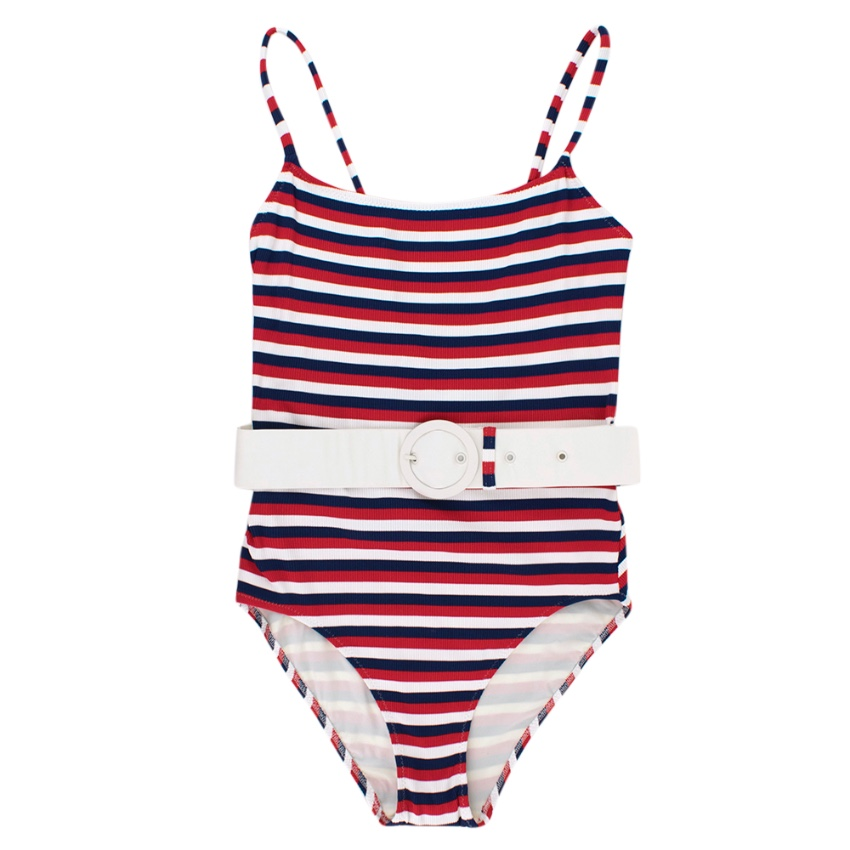 Solid & Striped The Nina Belted Swimsuit