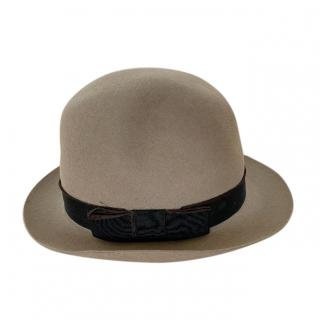 Christys' London felt taupe hat