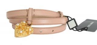 Dolce & Gabbana Pink Mamma Waist Belt
