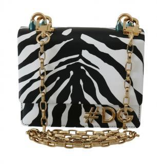 Dolce & Gabbana D&G Girls Zebra Print Shoulder Bag