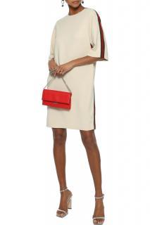 Gucci beige stretch Gucci stripe dress