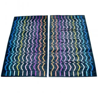 Missoni beach/bath towels