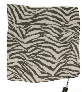 Dolce & Gabbana zebra print silk scarf