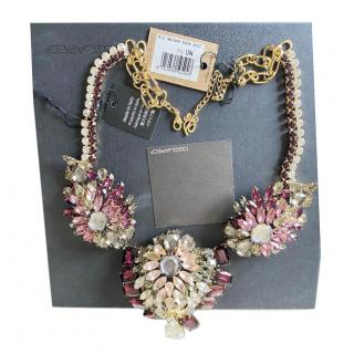 DSquared2 Crystal Embellished Collar Necklace