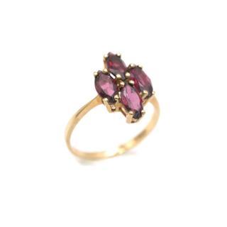 Bespoke 9ct Gold Vintage Garnet Ring